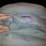La poche arrière du siège de table