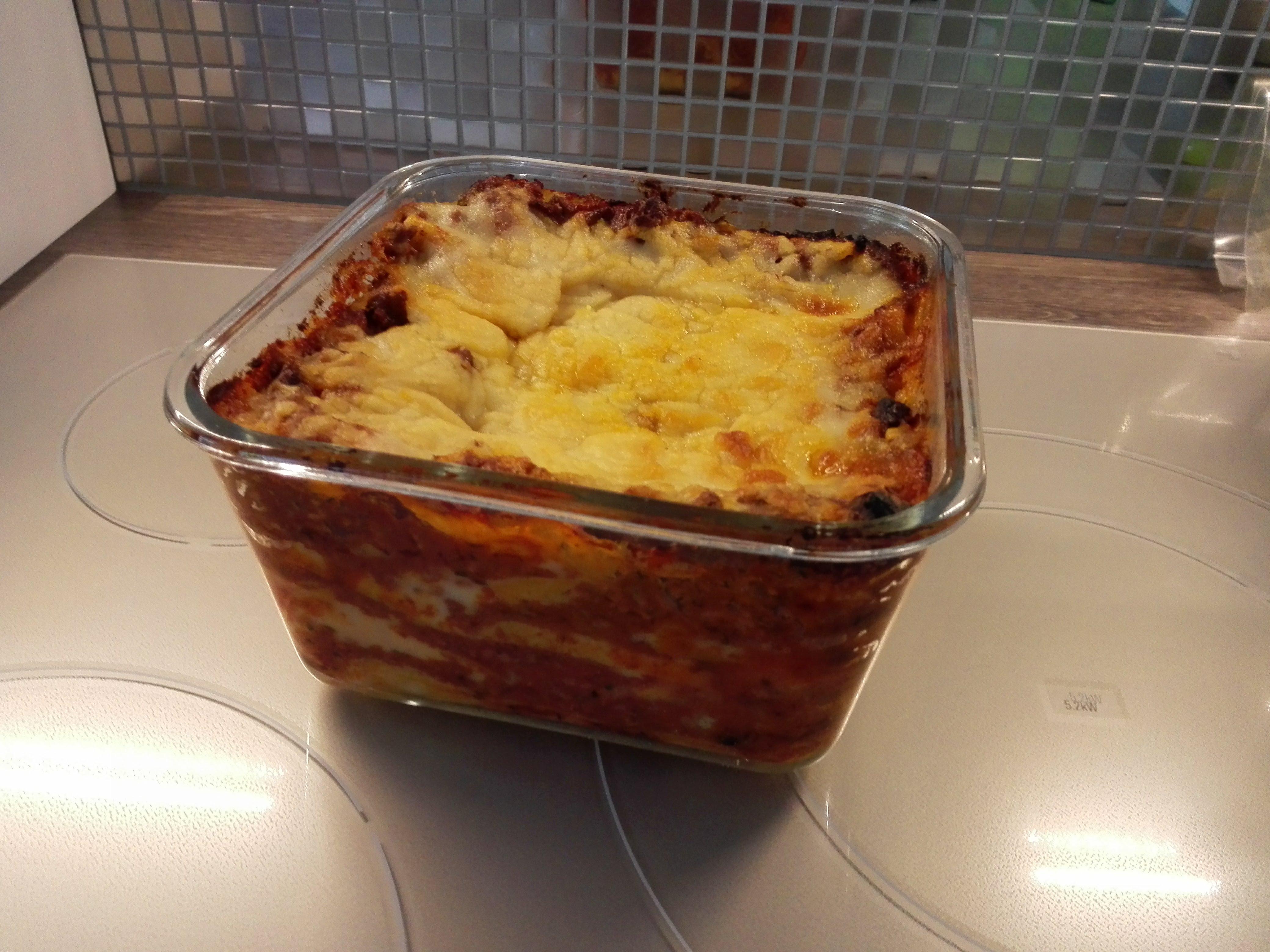 Recette de lasagnes sans gluten ni lactose