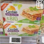Pâtes au maïs et au riz GERBLE pour la recette de lasagnes sans gluten ni lactose